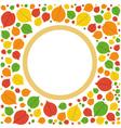 Autumn Frame - vector image
