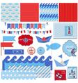 Nautical Sea Theme vector image