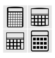 Icons Calculator vector image