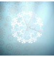 Winter with Christmas decoration  EPS10 vector image