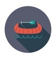 Canoe icon vector image