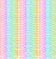 Matrix concept rainbow and white background vector image