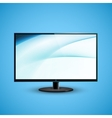 TV Flat Screen Icd vector image