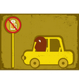 no drink and drive vector image vector image
