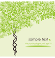 nature tree vector image vector image