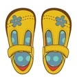 Girls shoes vector image