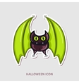 Halloween Bat icon vector image