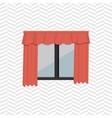 apartment window design vector image