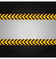construction warning background vector image