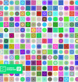 Abstract Geometric Squares Background vector image
