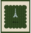 Touristic Retro Vintage Greeting sign vector image