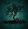 grunge halloween background 2708 vector image vector image