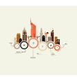 City infographics vector image