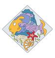 fish SEA vector image