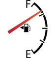 Fuel gage vector image