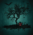 grunge halloween background 2708 vector image