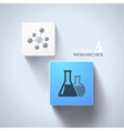 Chemical concept vector image vector image