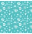 Elegant white snowflakes of various styles vector image