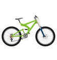 Two suspension mountain bike vector image
