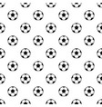 football or soccer ball pattern vector image