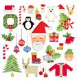 christmas icon vector image