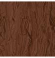 seamless texture of walnut vector image
