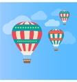 Air colorful balloon vector image