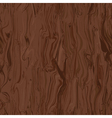 seamless texture of walnut vector image