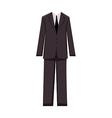 Male business suit design elements - vector image