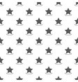 star pattern seamless vector image
