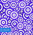Colorful Circles Seamless Background vector image