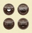 Label set for restaurant and cafe vector image