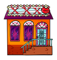 Cathouse vector image