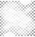 Abstract geometric shape from triangles vector image