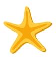 starfish sea isolated icon vector image