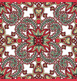 floral seamless background oriental ornament vector image