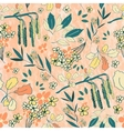 Srping floral pattern vector image