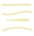 Yellow Wheats vector image
