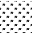 Flag on flagpole pattern simple style vector image