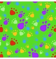 Bright pet seamless pattern vector image