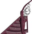 staircase vector image