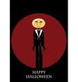 Mister Halloween Background vector image