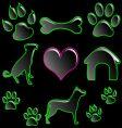 icon setpet vector image