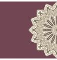 Round Decorative Design Ornament vector image vector image