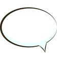 comic book speech bubble symbol vector image vector image