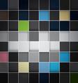 Seamless blocks colour background Eps 10 vector image