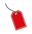 tag store market icon vector image