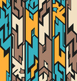 alien seamless pattern vector image