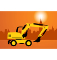 digger construction vector image