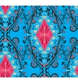 Seamless pattern vintage style vector image vector image